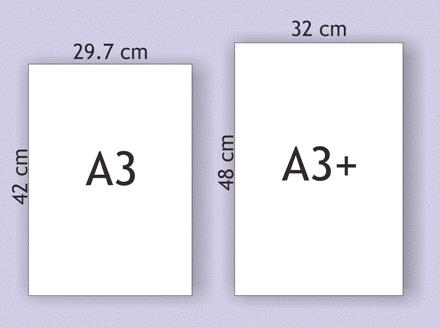 Ukuran Kertas A3 CM