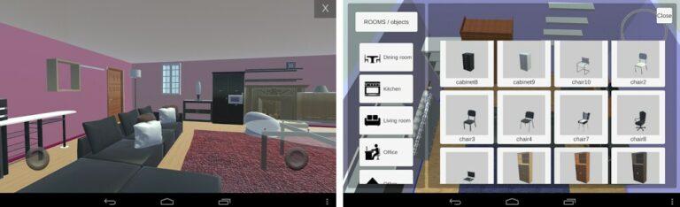 Aplikasi Room Creator Interior Design