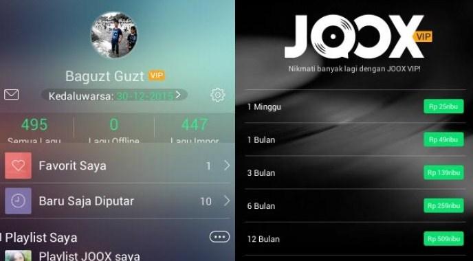 Aplikasi JOOX Music