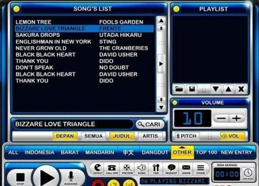 Aplikasi Karaoke Player