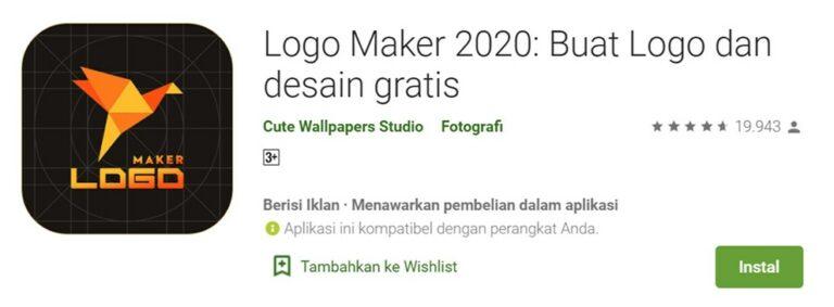 Aplikasi Logo Maker 2020 - Cute Wallpapers Studio