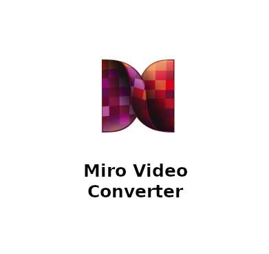 Aplikasi Miro Video Converter