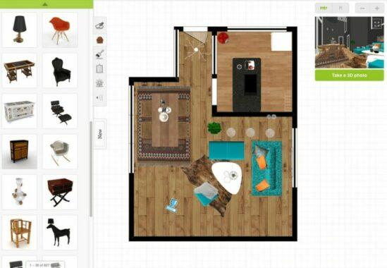 Aplikasi Roomstyler 3D Home Planner