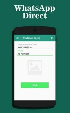 Aplikasi WhatsApp Direct Chat