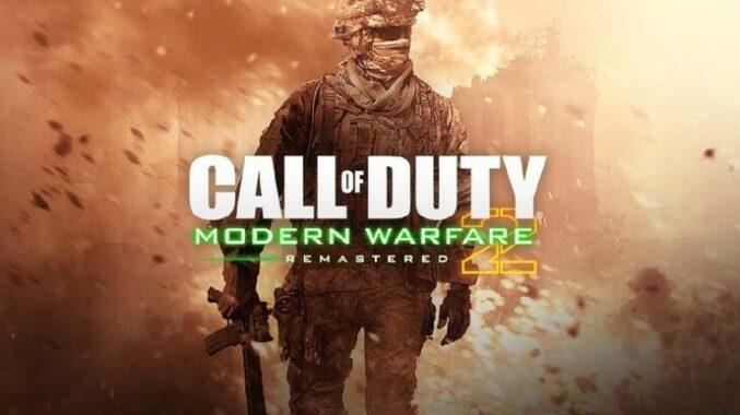 Game Call OF Duty Modern Warfare 2