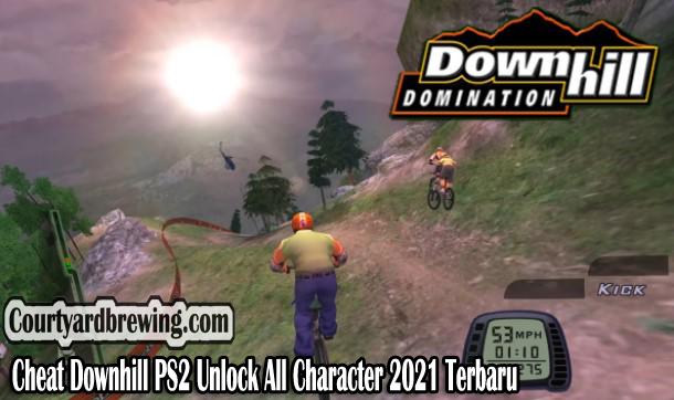 Cheat Downhill PS2 Unlock All Character 2021 Terbaru Lengkap
