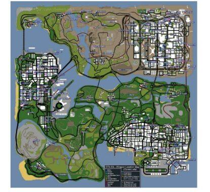 Cheat GTA San Andreas khusus versi PS2.