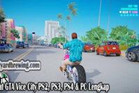 Cheat GTA Vice City PS2, PS3, PS4 & PC