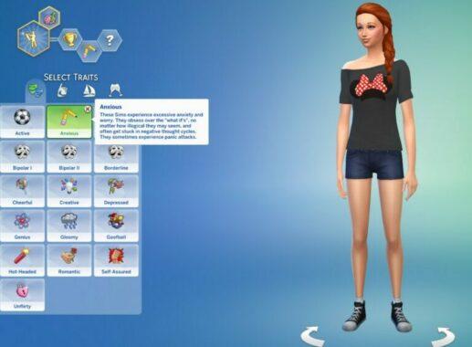 Cheat Sims Trait