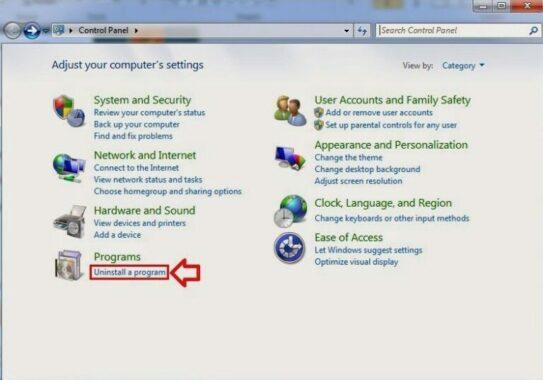 Cara Menghapus Aplikasi Pada Windows 7
