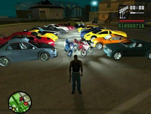 Cheat GTA San Andreas Versi PS2