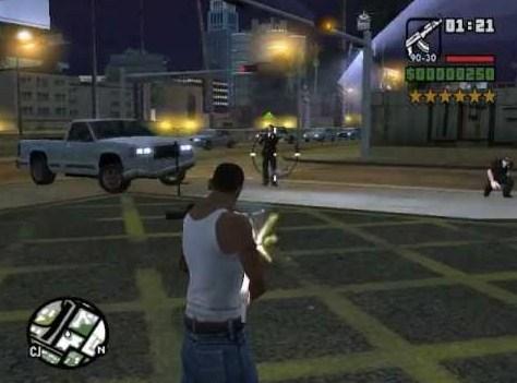 GTA PS 2 Darah Tidak Habis-Habis