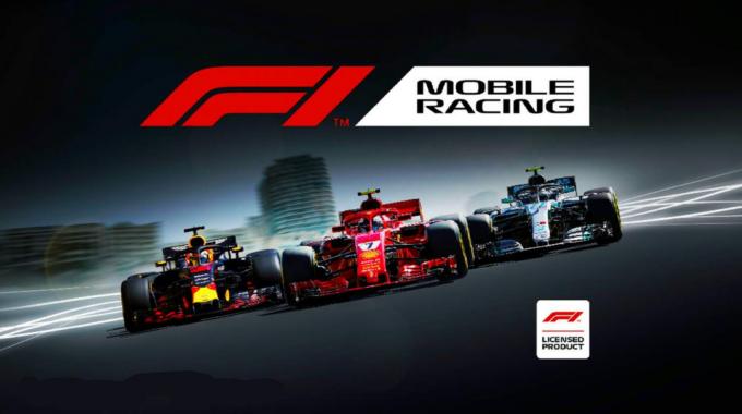 Game Balap F1 Mobile Racing