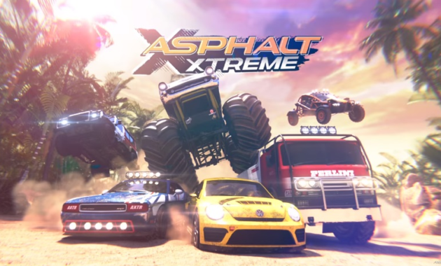 Game Balap Mobil Asphalt Extreme: Rally Racing
