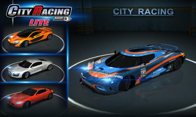 Game Balap Mobil City Racing Lite