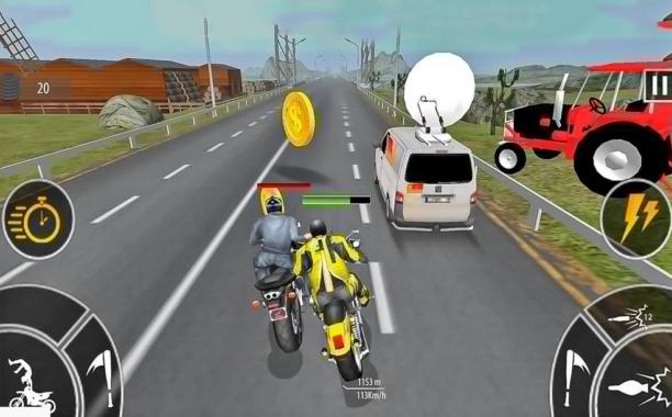 Game Balap Motor Bike Attack Race