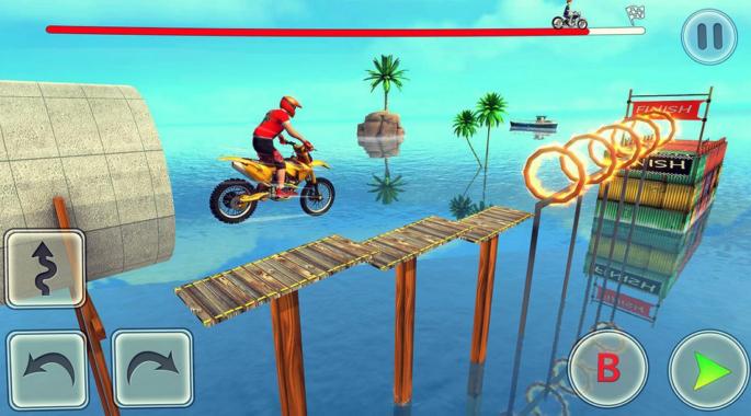 Game Balap Motor Bike Stunt Race Master 3d Racing