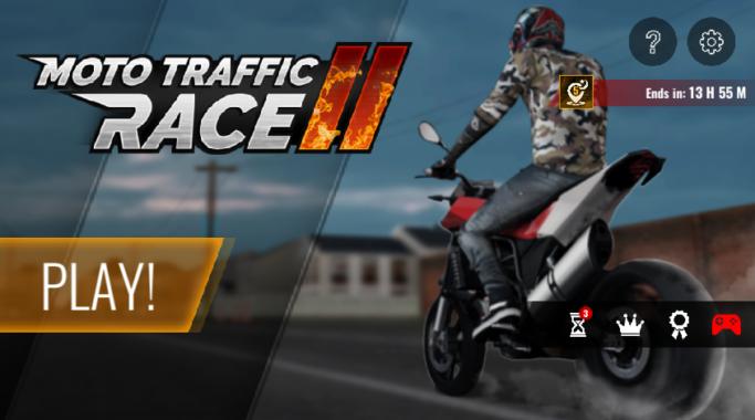 Game Balap Motor Moto Traffic Race 2