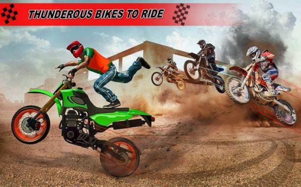 Game Balap Motor Offroad Bike Racing