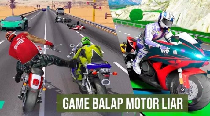 Game Balap Motor Racing Moto