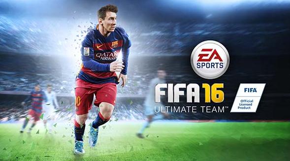 Game FIFA 16 Soccer