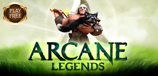 Game Petualangan Arcane Legends MMO-Action RPG