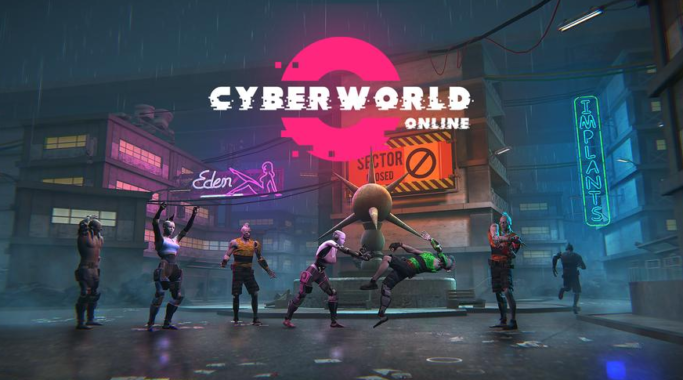Game Petualangan Cyberworld Online: Open World RPG