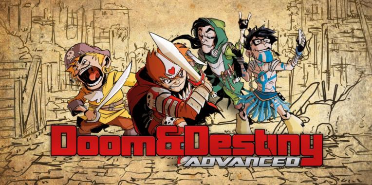 Game Petualangan Doom & Destiny Advanced