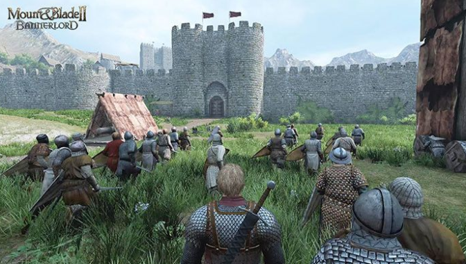 Game Petualangan Mount and Blade Warband