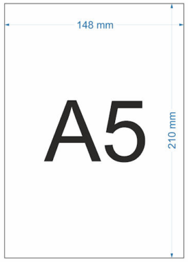 Ukuran Kertas A5 Dalam mm
