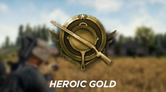 Rank Heroic Gold (Gold)