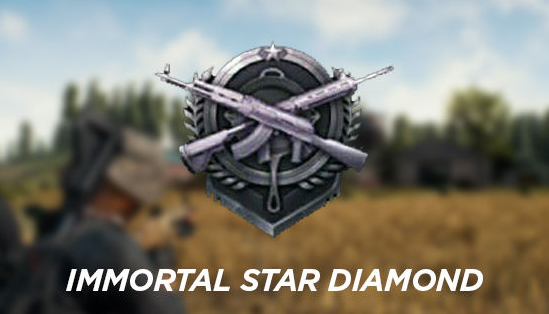 Rank Immortal Star Diamond (Diamond)