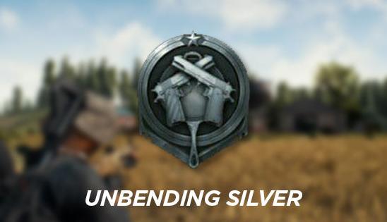 Rank Unbending Silver (Silver)