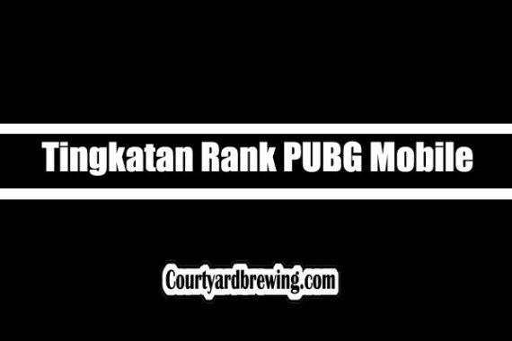 Tingkatan Rank PUBG Mobile