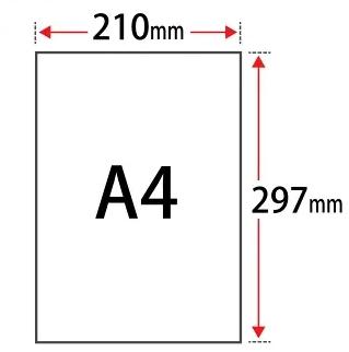 Ukuran Kertas A4 dalam Berbagai Satuan