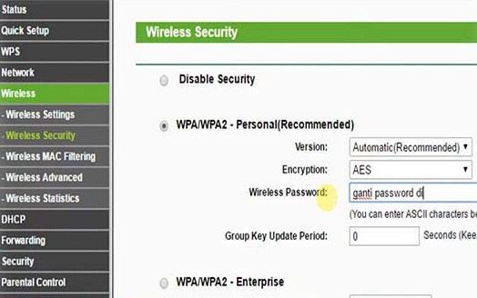 Wirelles Security