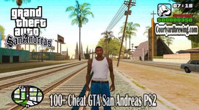 100+ Cheat GTA San Andreas PS2 Terlengkap di Dunia 2021
