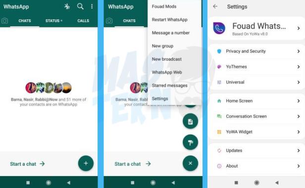 Fitur Fouad WhatsApp Mod Apk