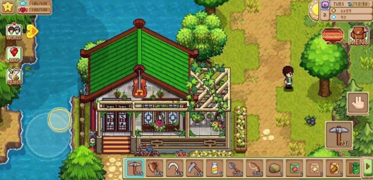 Fitur Unggulan Harvest Town Mod Apk