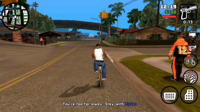 Fitur GTA San Andreas Mod Apk