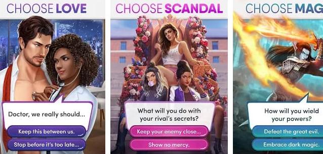 Pilihan Cerita Choices Mod APK