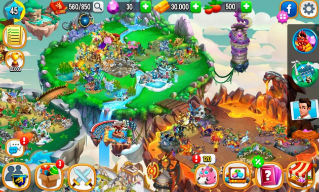 Fitur Dragon City Mod APK