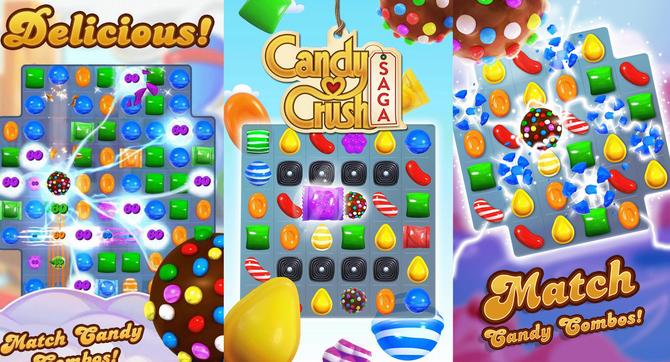 Permainan candy crush saga