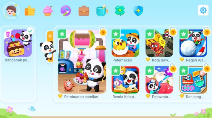 Download Dunia Bayi Panda Mod Apk