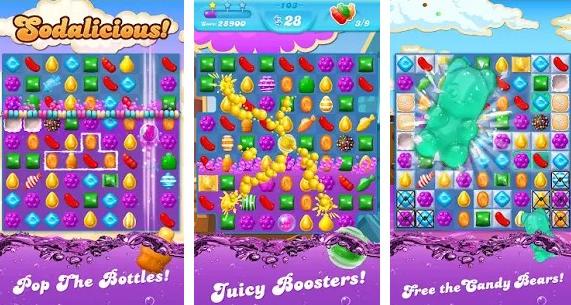 Fitur Candy Crush Soda Mod Apk