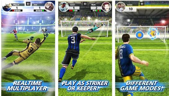Fitur Football Strike Mod Apk