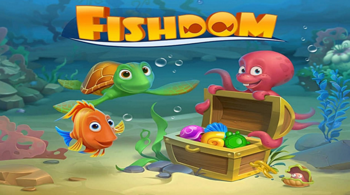 Fitur Fishdom Mod Apk