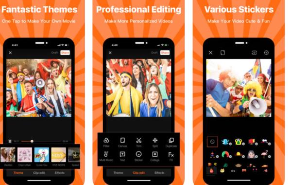 Fitur Aplikasi VivaVideo Mod Apk