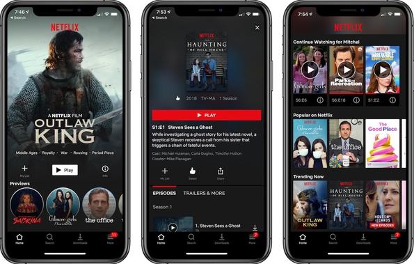 Fitur Netflix Mod Apk